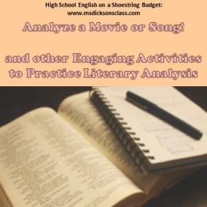 analyzing poems to essay