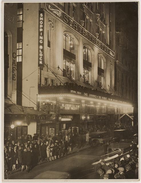 State Theatre, Sydney 1929