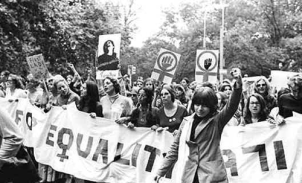 1970 - Women march in support of the Equal Rights Amendment