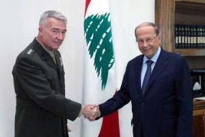 ماكينزي في بيروت لطمأنة الجيش اللبناني وتحذير حزب الله