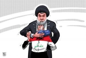 قبعات الصدر الزرقاء وانتفاضة العراق