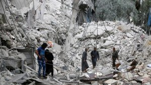 روسيا تهدد  مشروع قرار فرنسي حول حلب بالفيتو