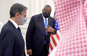 """وزير الدفاع الأميركي لويد أوستن """"يأمل"""" في لقاء ولي العهد السعودي."""