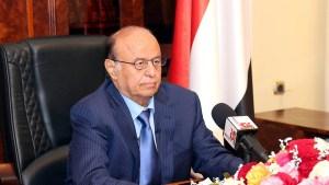 الرئيس اليمني ظروف المرحلة استدعت تغييرات حكومية