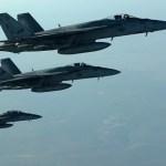 طيران التحالف ينفذ 22 غارة ضد داعش في العراق