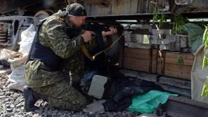الدفاع الشعبي: #الجيش_الاوكراني يعاود قصف مدينة #سلافيانسك