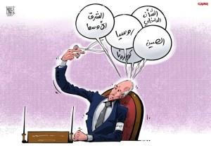 الشرق الأوسط خارج حسابات جو بايدن