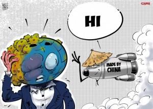 كورونا والصاروخ الصيني
