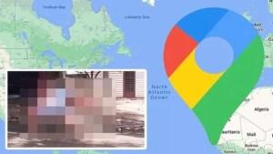 """إحراج لا مثيل له.. خرائط """"غوغل"""" تلتقط صورة غير متوقعة لفتاة!"""