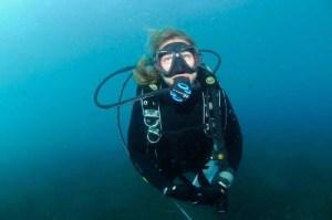 Lee Pape diving