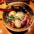 """【新宿】焼きあご塩らー麺たかはし本店の「""""得""""製焼きあご塩らー麺」"""