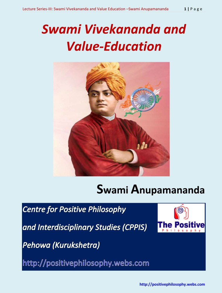 A Tribute to Swami Vivekananda (January 12, 1863 - July 4, 1902) (6/6)