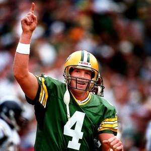 Brett Favre is the No. 1 passer in NFL history.