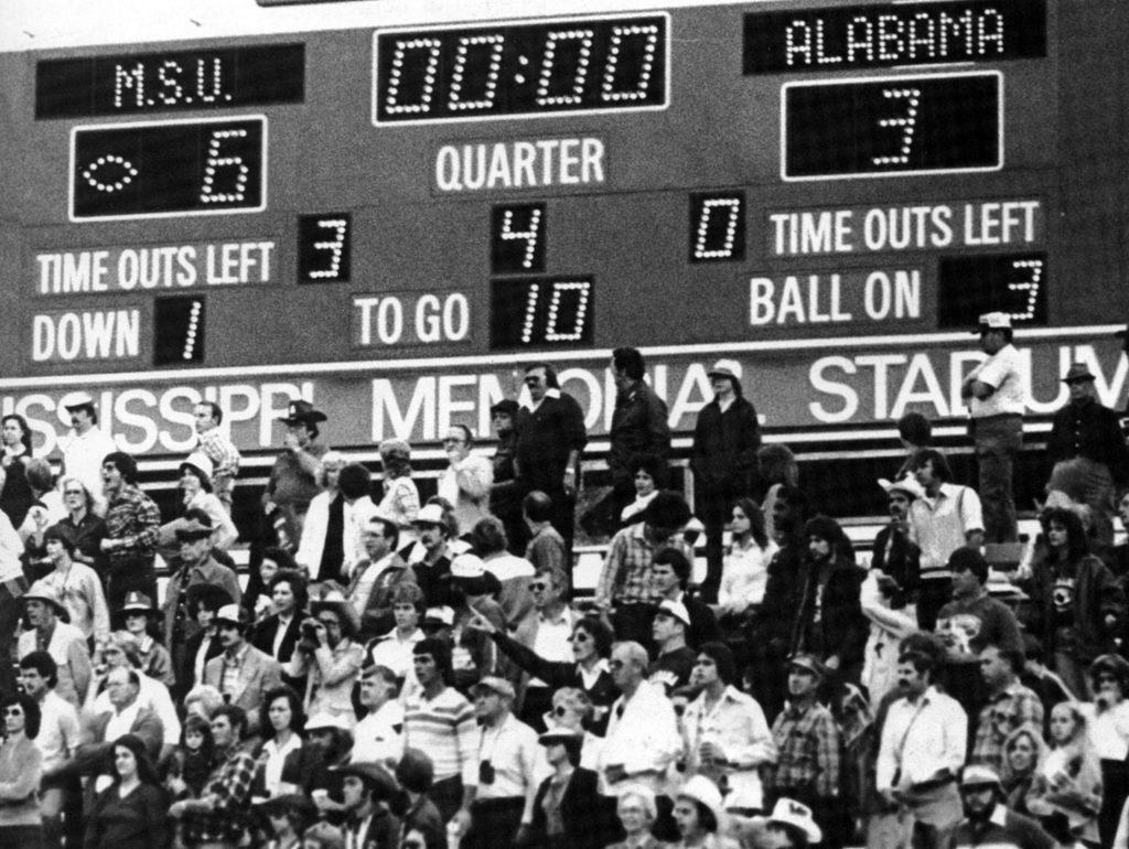 MSU vs Bama 1980