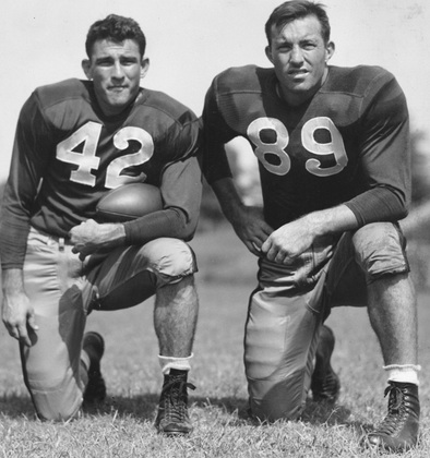 Charlie Conerly and Barney Poole.