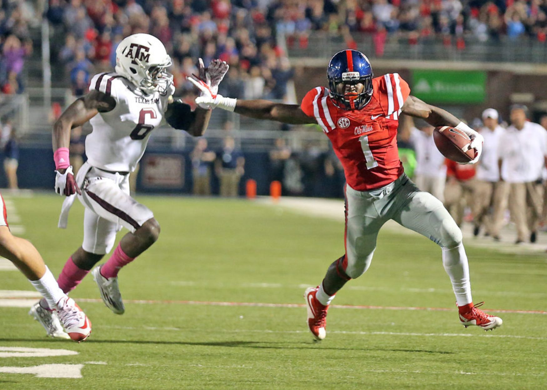 Laquon Treawell has plenty of attributes besides speed. (Photo by Joshua McCoy) Photo by Joshua McCoy/Ole Miss Athletics