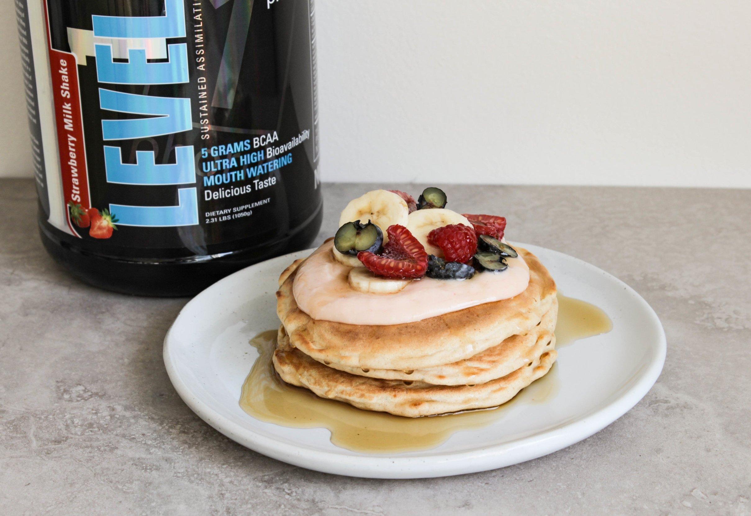 Gluten-free protein pancake recipe