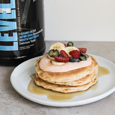 Simple Protein Pancakes (Gluten-Free!)