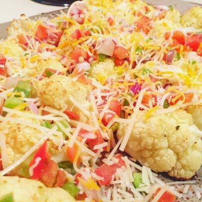 Loaded Baked Cauliflower Nacho Recipe (Guilt-free!)