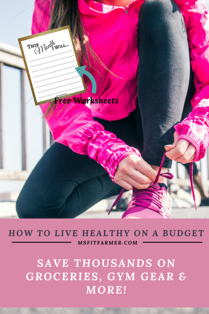 Healthy Living | Living Healthy on a Budget | Money Saving Tips | Fit Lifestyle | Diet & Nutrition | More health and wellness at https://msfitfarmer.com