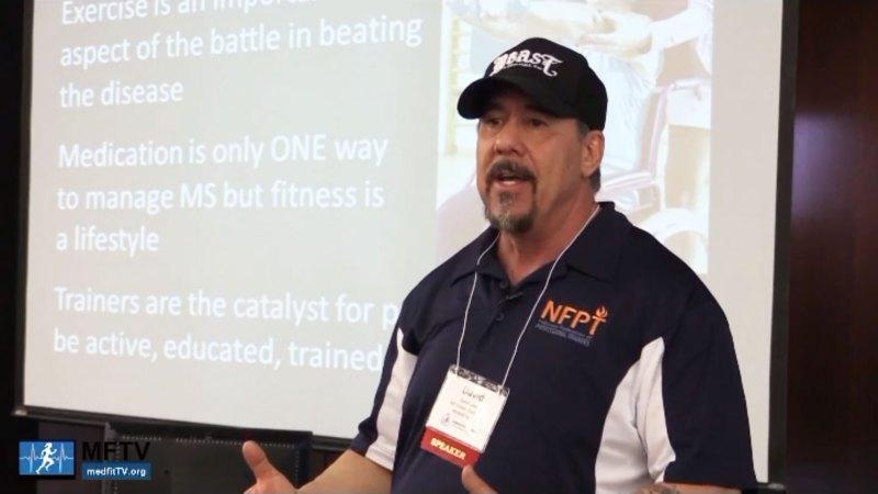David Lyons at a MedFitTV conference