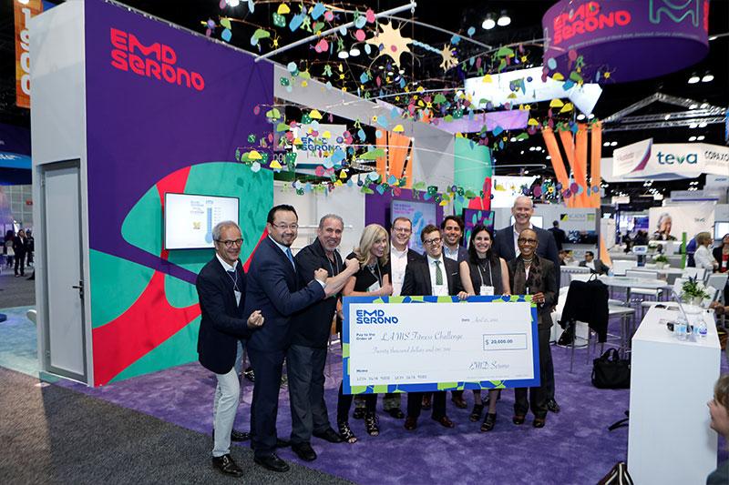 EMD Serono raised $20000 for MS Fitness Challenge