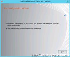 SharePoint-2013---Run-Configuration-Wizard