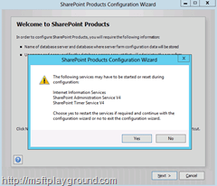 SharePoint-2013---Welcome-Warning