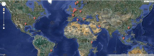 Google Maps Display Template