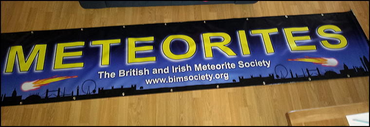 Three metre wide banner that we ended up not being able to use.