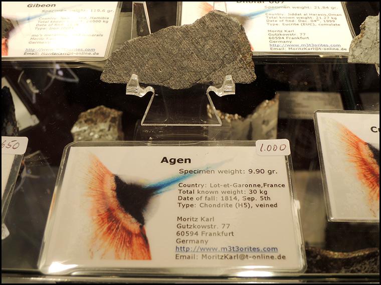 Lovely slice of Agen on Moritz's stand.