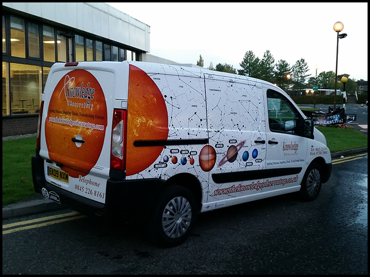 The Knowledge Observatory's fantastic Astro Van