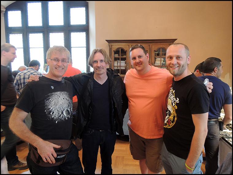 Graham, Jarkko, Luther and Tomasz.