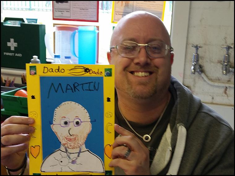 An uncanny likeness! :-)