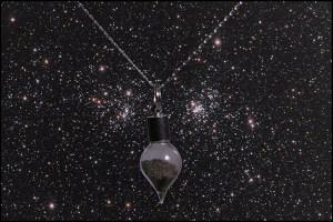 Stardust necklace teardrop 1