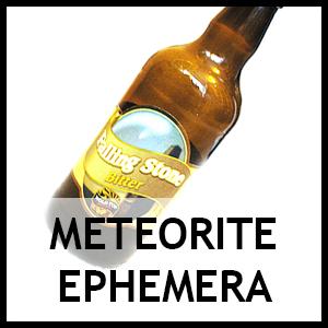 Meteorite ephemera