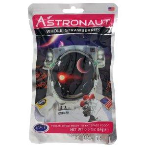 Astronaut food strawberries 1