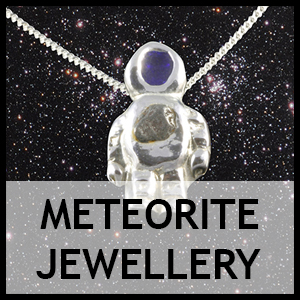 Meteorite jewellery