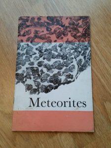 Meteorites book moss 1