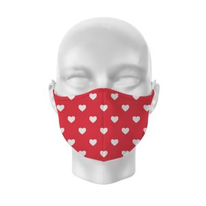 Mask hearts version2 2