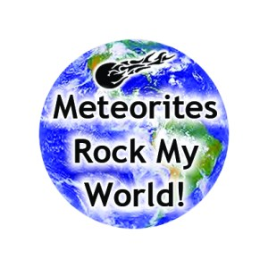 Badge meteorites rock my world