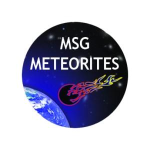 Badge msg meteorites