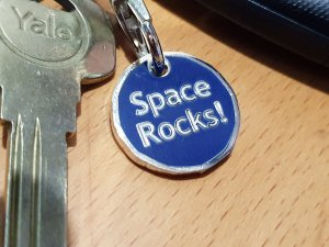 Msg meteorites keyring trolley token 8