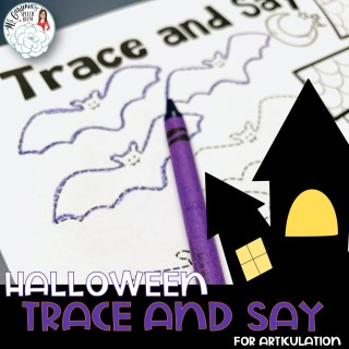 halloween preschool plans for speech therapy