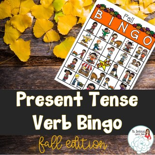 speech therapy activities for fall