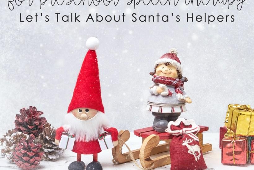 elf activities for preschool; reindeer activities for preschool