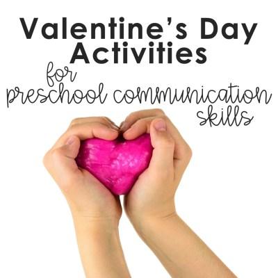 valentine themed activities for preschoolers