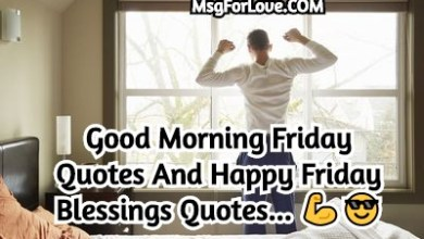 Good Morning Friday Quotes