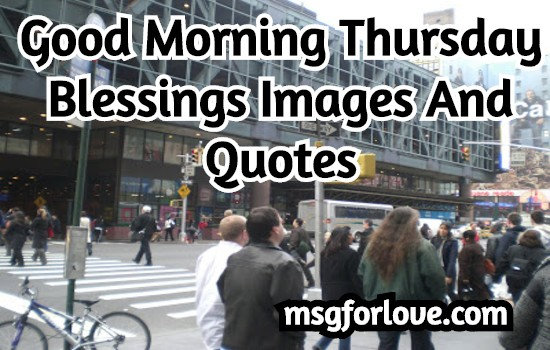 Good Morning Thursday quotes