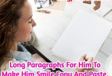 Long Paragraphs For Him To Make Him Smile Copy And Paste